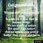 Enlightened state