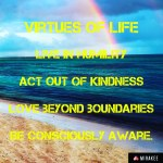 Virtues of life