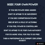 Seize your ownpower