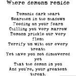 Where demons reside