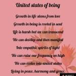 United states ofbeing