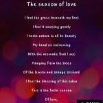 The season oflove