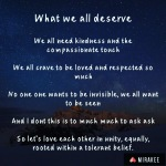 What we alldeserve
