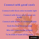 Connect with good souls
