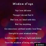 Wisdom of age