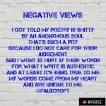 Negative views