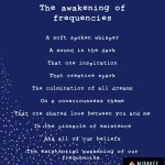 The awakening of frequencies