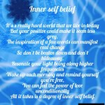 Inner self belief